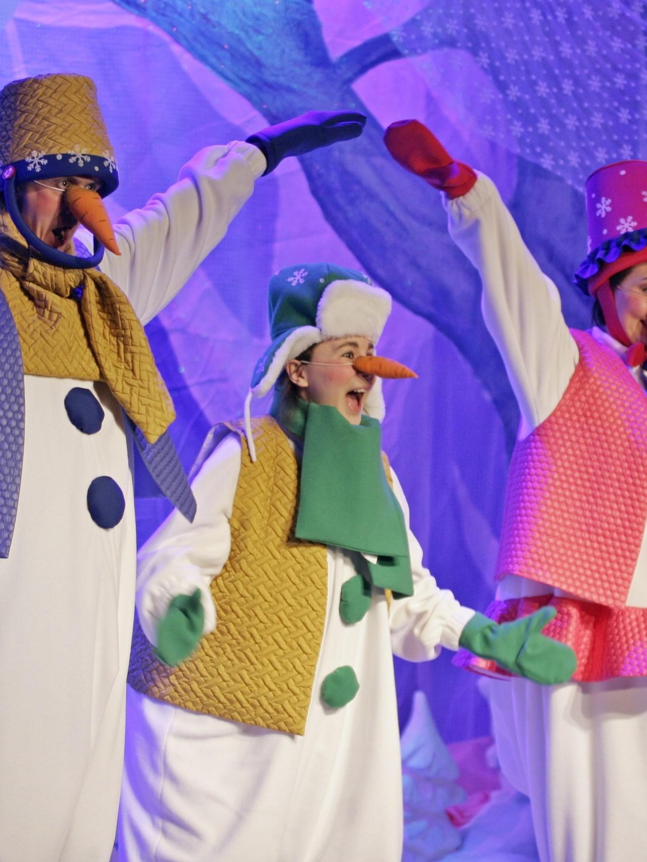 Новогодняя сказка «Маленький Дед Мороз»