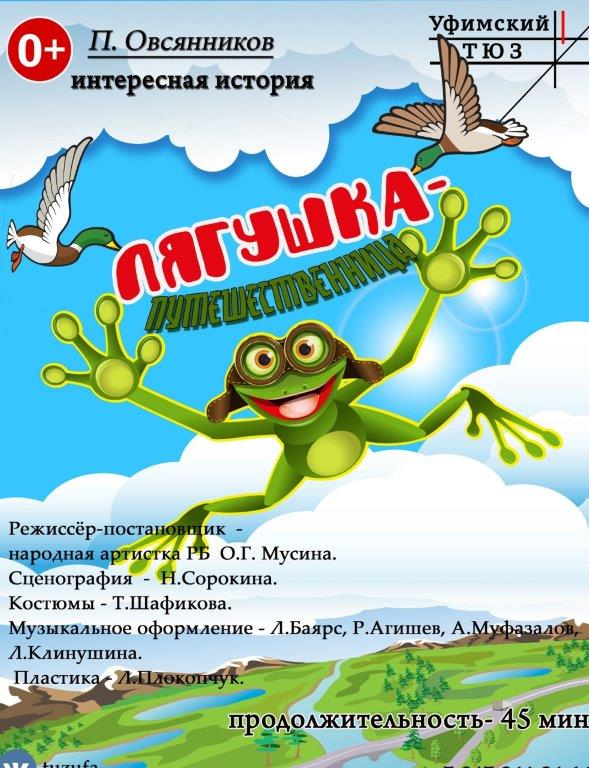 Спектакль «Лягушка-путешественница»